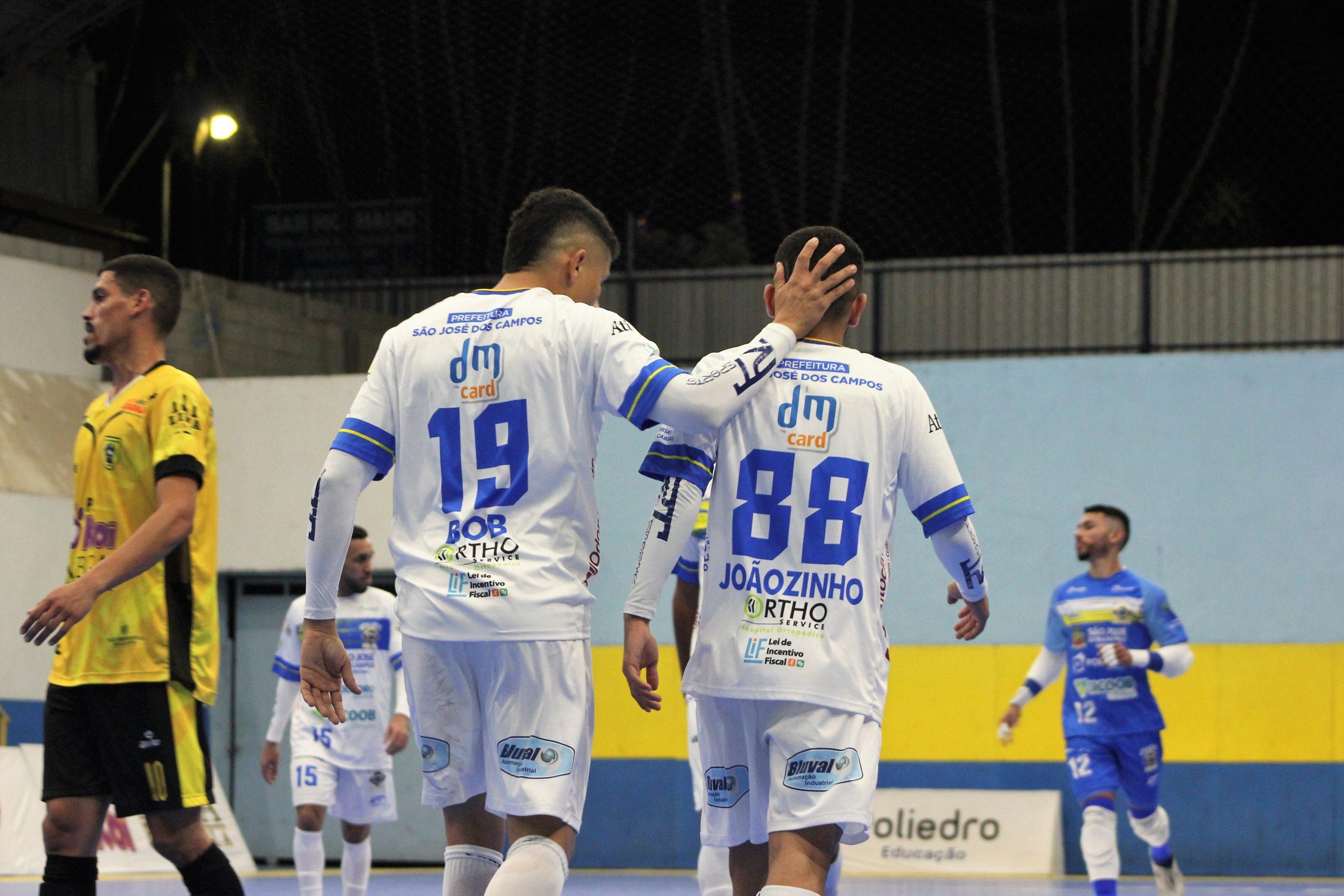 São José Futsal goleia São Bernardo em casa e está na semifinal do Paulista de Futsal